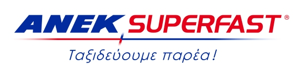 ANEK SUPERFAST logo (incl gr motto + colours)